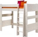 Vyvýšená postel Dash II 90x200 cm - borovice/bílá