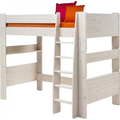 Vyvýšená postel Dash II 90x200 cm - borovice/bílá 083322