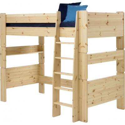 Vyvýšená postel Dash II 90x200 cm - borovice/lak 083323