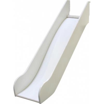 Skluzavka k vyvýšené posteli Dash - MDF/bílá