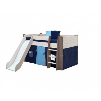 Textilie k vyvýšené posteli Dash - tmavě modrá
