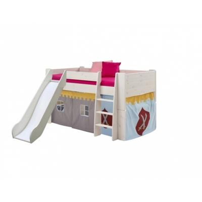 Textilie k vyvýšené posteli Dash - rytířský vzor