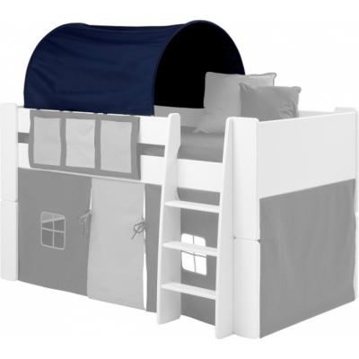 Textilie (tunel) k posteli Dash - tmavě modrá