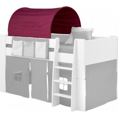 Textilie (tunel) k posteli Dash - lila/růžová