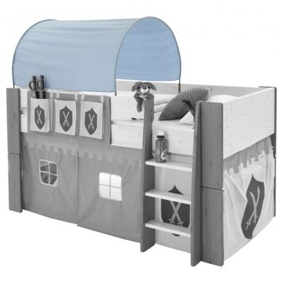 Textilie (tunel) k posteli Dash - rytíř
