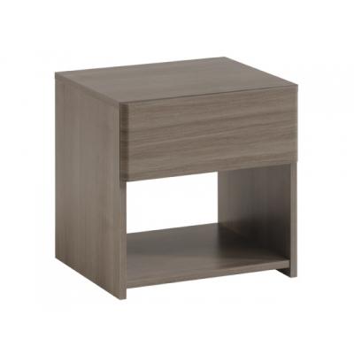 Noční stolek Sam - ořech stříbrný