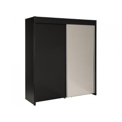 Šatní skříň Sam - černá 301358