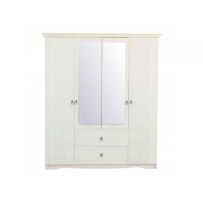 Šatní skříň Christi - bílá