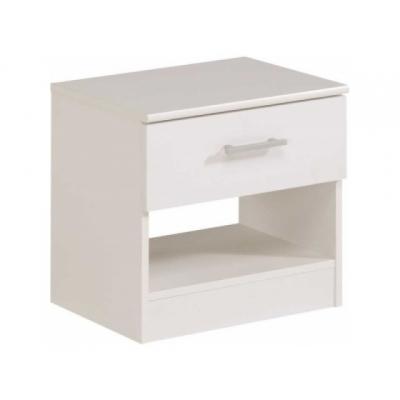 Bílý noční stolek General