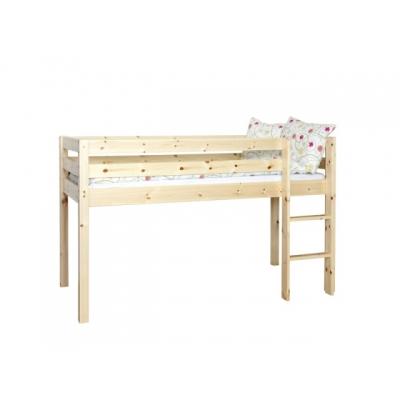 Vyvýšená postel Alois (výška 120cm) - masiv 083456