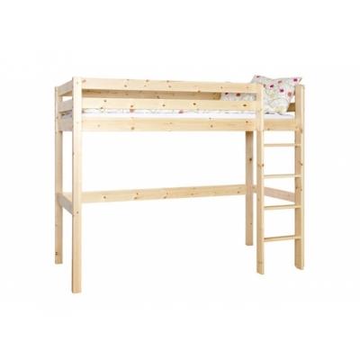 Vyvýšená postel Alois (výška 175cm) - masiv 083458