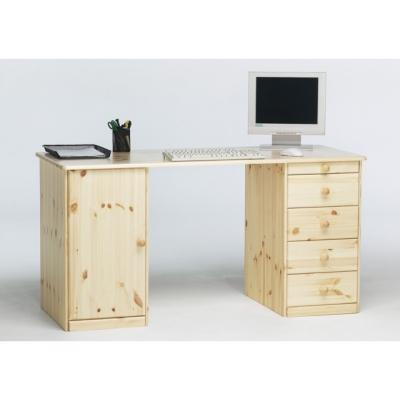 Psací stůl Keren 1D4S - masiv