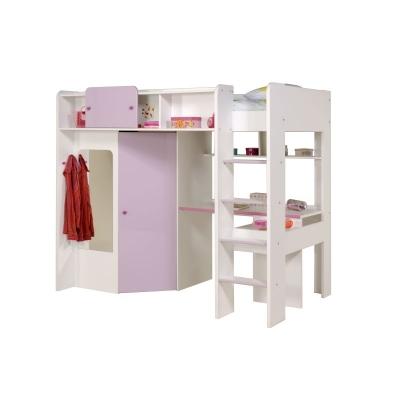 Dětská patrová postel Mademoiselle 300237