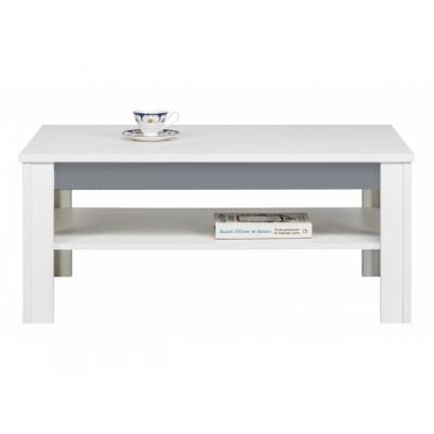 Konferenční stolek Julien -  bílá