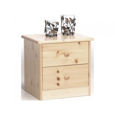 Noční stolek Manka - masiv