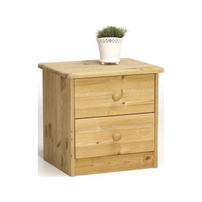 Noční stolek Manka - masiv/olejovaný 083676
