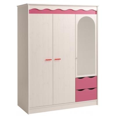 Dětská šatní skříň Lolita