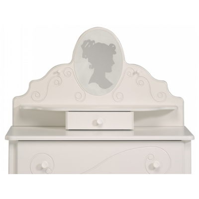 Dětská toaletka Alice - bílá 300167