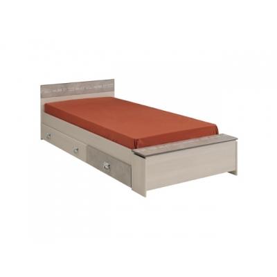 Dětská postel se šuplíky Codi - 90x190cm 301736
