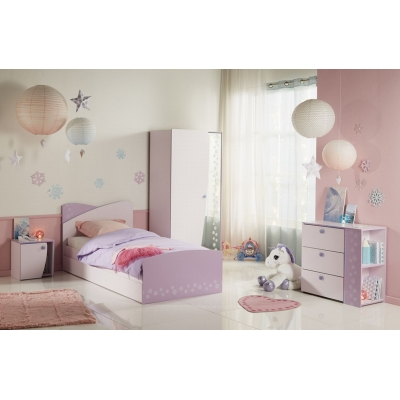 Dětský pokoj Winter II - růžová/fialková
