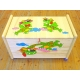 Dřevěná truhla pro děti Dráčci
