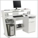 PC stůl Bílý