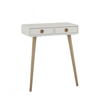 Odkládací stolek Sofie - bílý