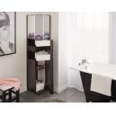 Toaletní stolek Kiss - černá/bílá
