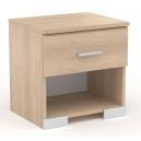 Noční stolek s šuplíkem – dub brooklyn