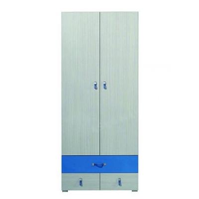 Dětská šatní skříň Adéla II - modrá 081280
