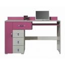 Písací stôl Adéla XIII - ružový