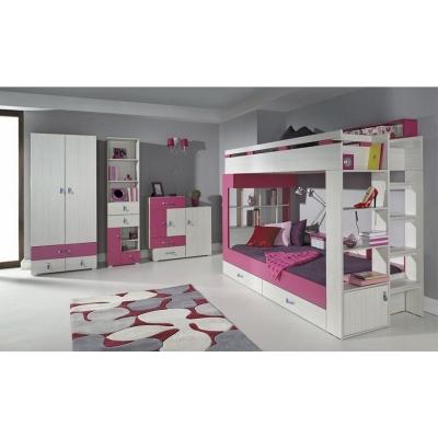 Dětský pokoj Adéla I - růžový nebo modrý