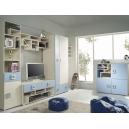 Detská izba Baron C - modrá, oranžová alebo limetka