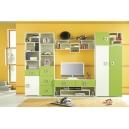 Detská izba Baron E - modrá, oranžová alebo limetka