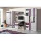 Dětský pokoj Delbert A1 - fialový nebo popelový odstín