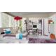 Dětský pokoj Delbert B - fialový nebo popelový odstín