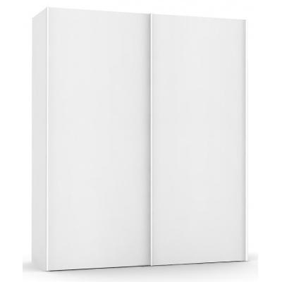 Vysoká šatní skřín REA Houston up 5 - bílá