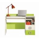 Písací stôl Baron 18 - oranžový, modrý alebo limetka
