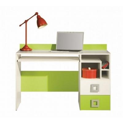 Psací stůl Baron 18  - oranžová, modrá nebo limetka