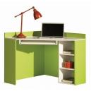 Písací stôl rohový Baron 17 - oranžová, modrý alebo zelený