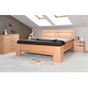Masivní postel s úložným prostorem Hollywood 2-80
