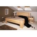 Masivní postel s úložným prostorem Olympia 2-80