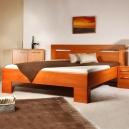 Masivní postel s úložným prostorem Varezza 5-80