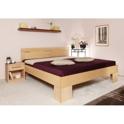 Masivní postel s úložným prostorem Varezza 6A v50