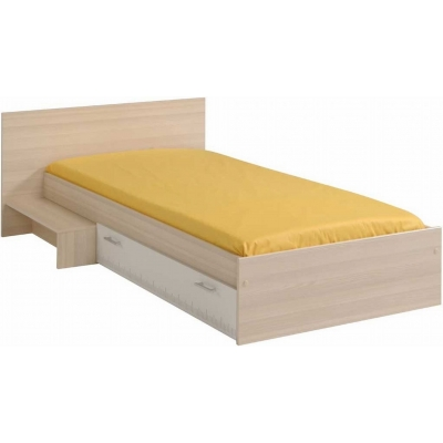 Dětská postel se schůdkem a šuplíkem Boob