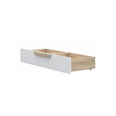 Šuplík pod postel dub sonoma/ bílá - Face