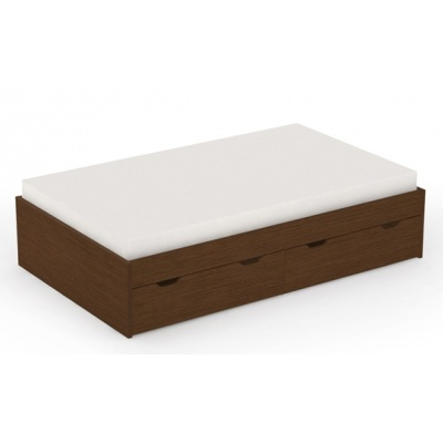 Dětská postel s úl. prostorem REA Misty 90x200cm - wenge
