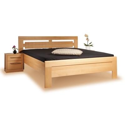 Masivní postel s úložným prostorem Arleta 3-120/14