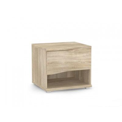 Noční stolek REA Wave 1 - dub bardolino