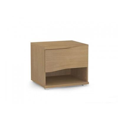 Noční stolek REA Wave 1 - buk